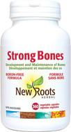New Roots Strong Bones Boron-Free 360 Veg Capsules