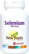 New Roots Selenium 100 mcg 100 Veg Capsules