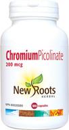 New Roots Chromium Picolinate 200 mcg 100 Veg Capsules