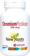 New Roots Chromium Picolinate 500 mcg 100 Veg Capsules