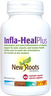 New Roots Infla-Heal Plus 360 Veg Capsules