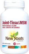 New Roots Joint-Tissu & MSM 900 mg 120 Veg Capsules