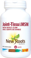 New Roots Joint-Tissu & MSM 900 mg 60 Veg Capsules
