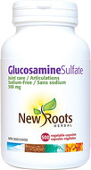 New Roots Glucosamine Sulfate 500 mg 500 Veg Capsules