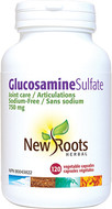 New Roots Glucosamine Sulfate 750 mg 120 Veg Capsules