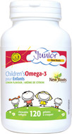 New Roots Children's Omega-3 Lemon Flavour 120 Chewable Softgels