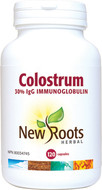 New Roots Colostrum 570 mg 120 Veg Capsules