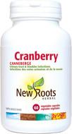 New Roots Cranberry 600 mg 60 Veg Capsules