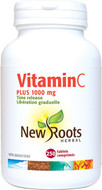 New Roots Vitamin C Plus 1000 mg 250 Tablets