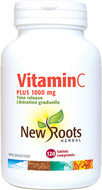 New Roots Vitamin C Plus 1000 mg 120 Tablets