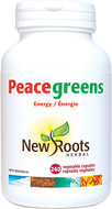 New Roots Peacegreens 240 Veg Capsules