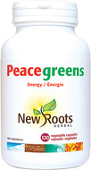 New Roots Peacegreens 120 Veg Capsules