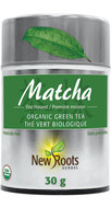 New Roots Matcha Green Tea Certified Organic 30 g