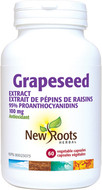 New Roots Grapeseed Extract 100 mg 60 Veg Capsules
