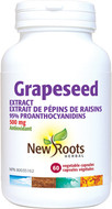 New Roots Grapeseed Extract 500 mg 60 Veg Capsules