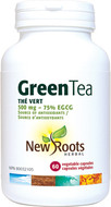New Roots Green Tea 500 mg 60 Veg Capsules