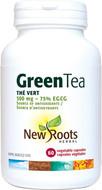 New Roots Green Tea 500 mg 60 Veg Capsules