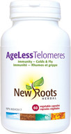 New Roots Ageless Telomeres 60 Veg Capsules
