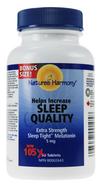 Nature's Harmony Sleep Tight Extra Strength Melatonin 5 mg 105 Tablets (OLD LABLEL)