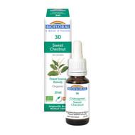 Biofloral No. 30 Sweet Chestnut Organic Flower Essence Remedy 20 ml