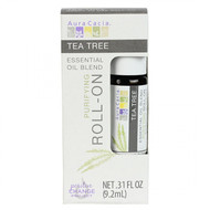 Aura Cacia Tea Tree Essential Oil Blend Roll On 9.2 ml