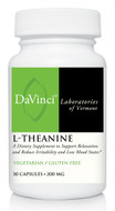 DaVinci Laboratories L-Theanine 30 Veg Capsules