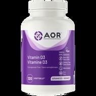 AOR Vitamin D3 120 Veg Softgels