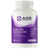 AOR Borage 500 - 180 Veg Softgels