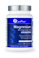 CanPrev Magnesium Bis Glycinate 200 mg Gentle Powder 120 g
