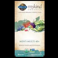 Garden of Life mykind Organics Men's Multi 40+ 60 Vegan Tablets