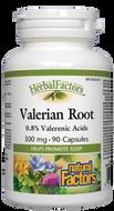 Natural Factors HerbalFactors Valerian Root 90 Capsules