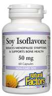 Natural Factors Soy Isoflavone 50 mg 60 Capsules