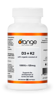 Orange Naturals D3+K2 90 Softgels