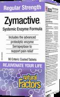 Natural Factors Zymactive Regular Strength 90 Enteric Coated Tablets