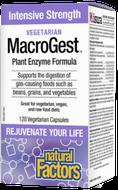 Natural Factors Vegetarian MacroGest 60 Veg Capsules