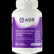 AOR Advanced Allergy Relief 60 Veg Capsules