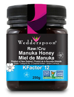 Wedderspoon Raw Manuka Honey KFactor 12 -250 g
