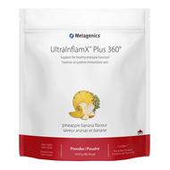 Metagenics UltraInflamX Plus 360 Pineapple Banana 1380 g