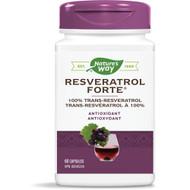 Nature's Way Resveratrol Forte 60 Capsules