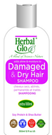 Herbal Glo Dry Damaged Hair Shampoo 350 ml