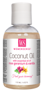 Womensense Coconut Oil with Rose Geranium & Vanilla Moisturizer 115 ml