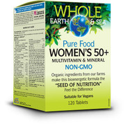 Whole Earth & Sea Women's 50+ Multivitamin & Mineral 120 Tablets By Natural Factors
