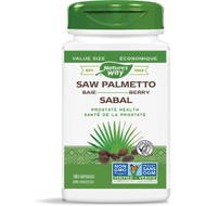 Nature's Way Saw Palmetto Berry Standardized Extract 180 Capsules