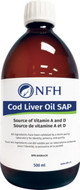 NFH Cod Liver Oil SAP 500 ml