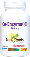 New Roots Co-Enzyme Q10 ∙ 200 mg 60 Capsules
