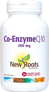 New Roots Co-Enzyme Q10 200 mg 30 Capsules