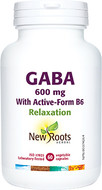 New Roots GABA With Active-Form B6 60 Capsules
