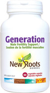 New Roots Generation Male Fertility 60 Capsules