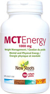New Roots MCT Energy 180 Softgels