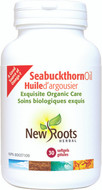 New Roots Seabuckthorn Oil Certified Organic 30 Softgels